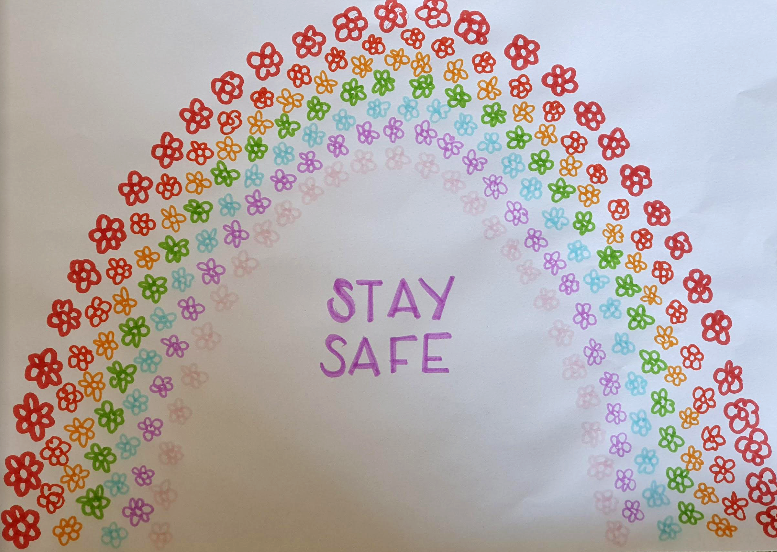 South Glos Children Send Hope Messages to Shielding Residents
