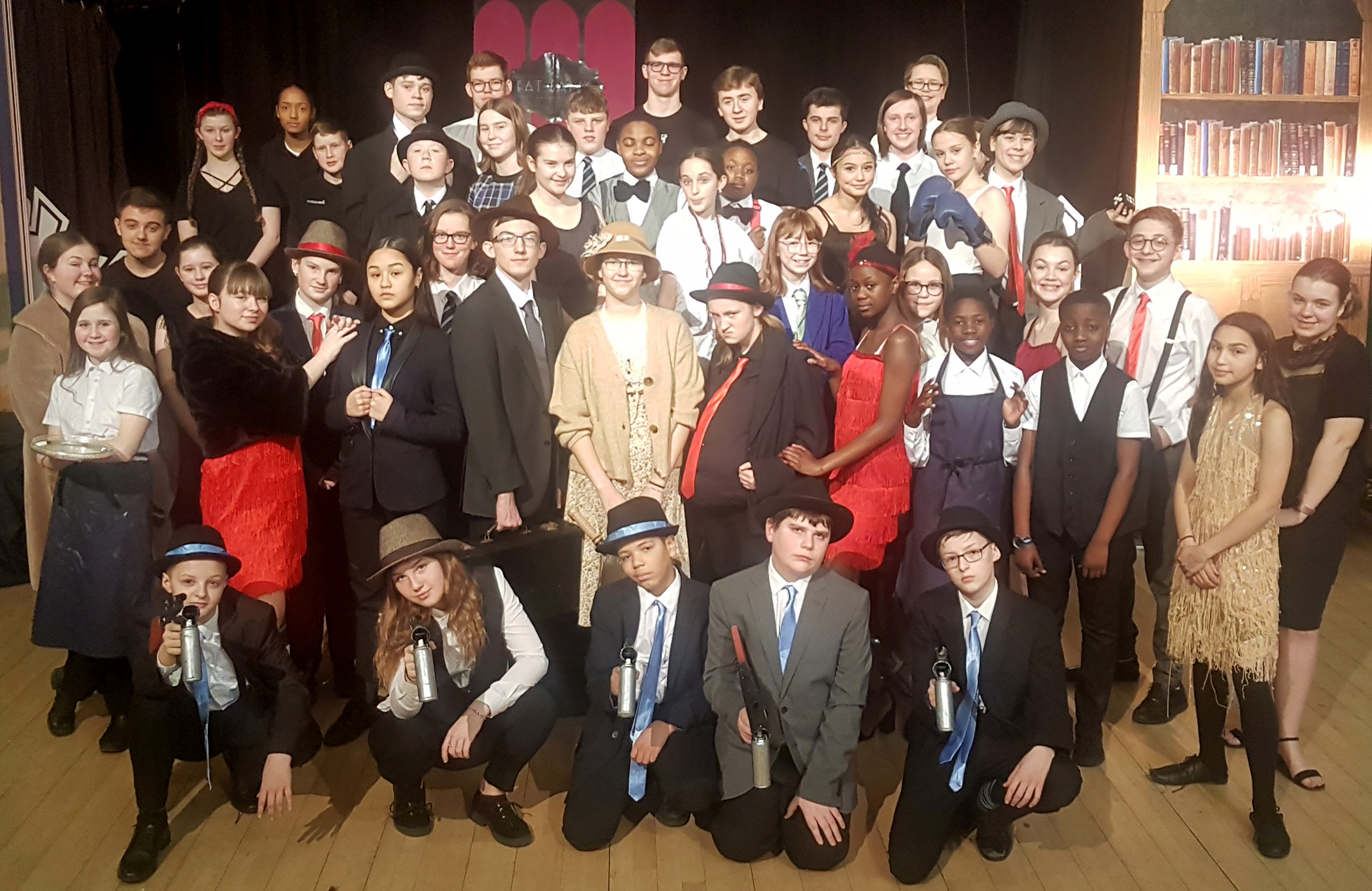 Bugsy Malone goes down a storm