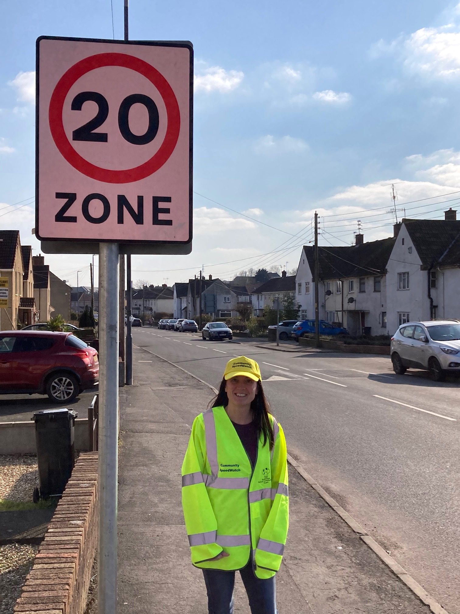 Councillor Alison Evans is leading Community SpeedWatch