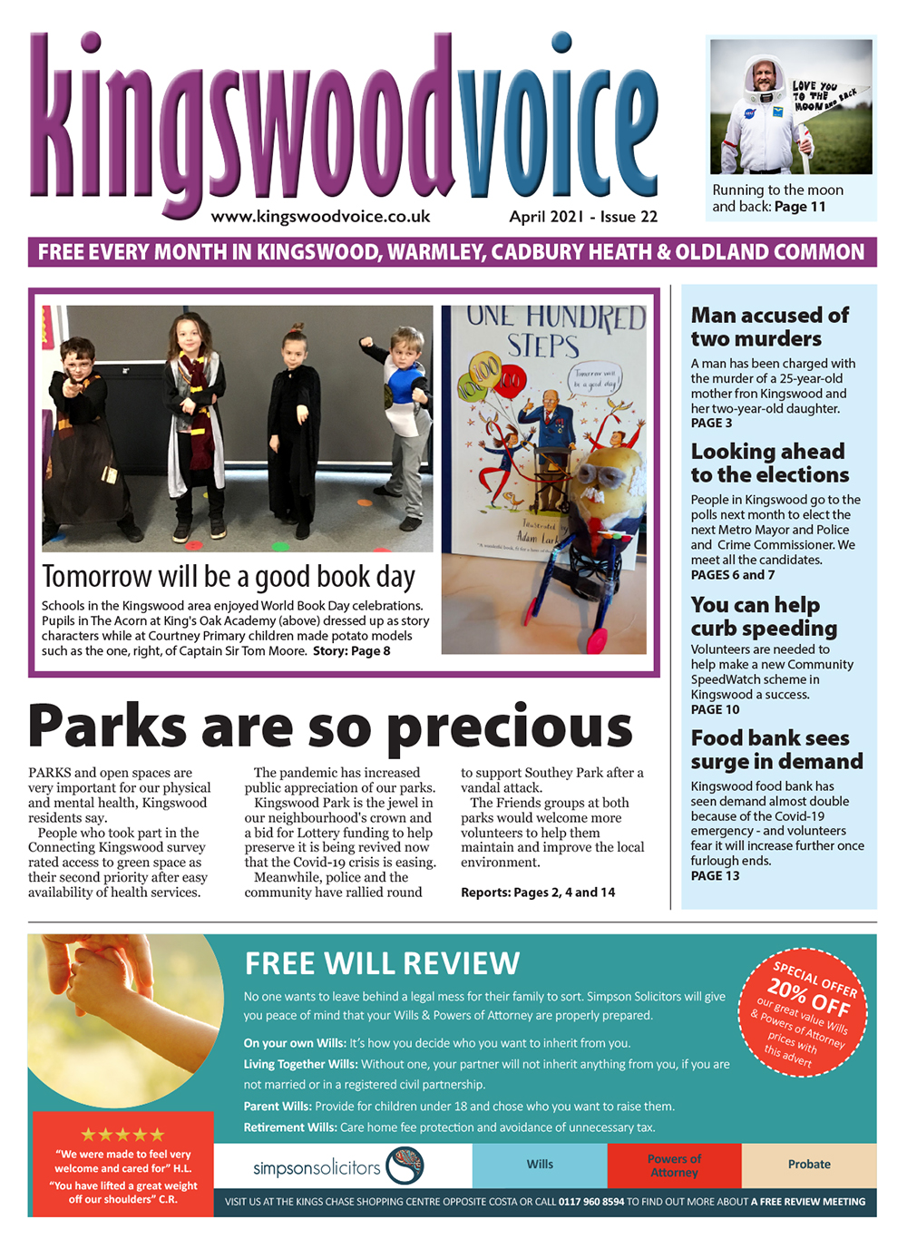 Kingswood Voice April 2021