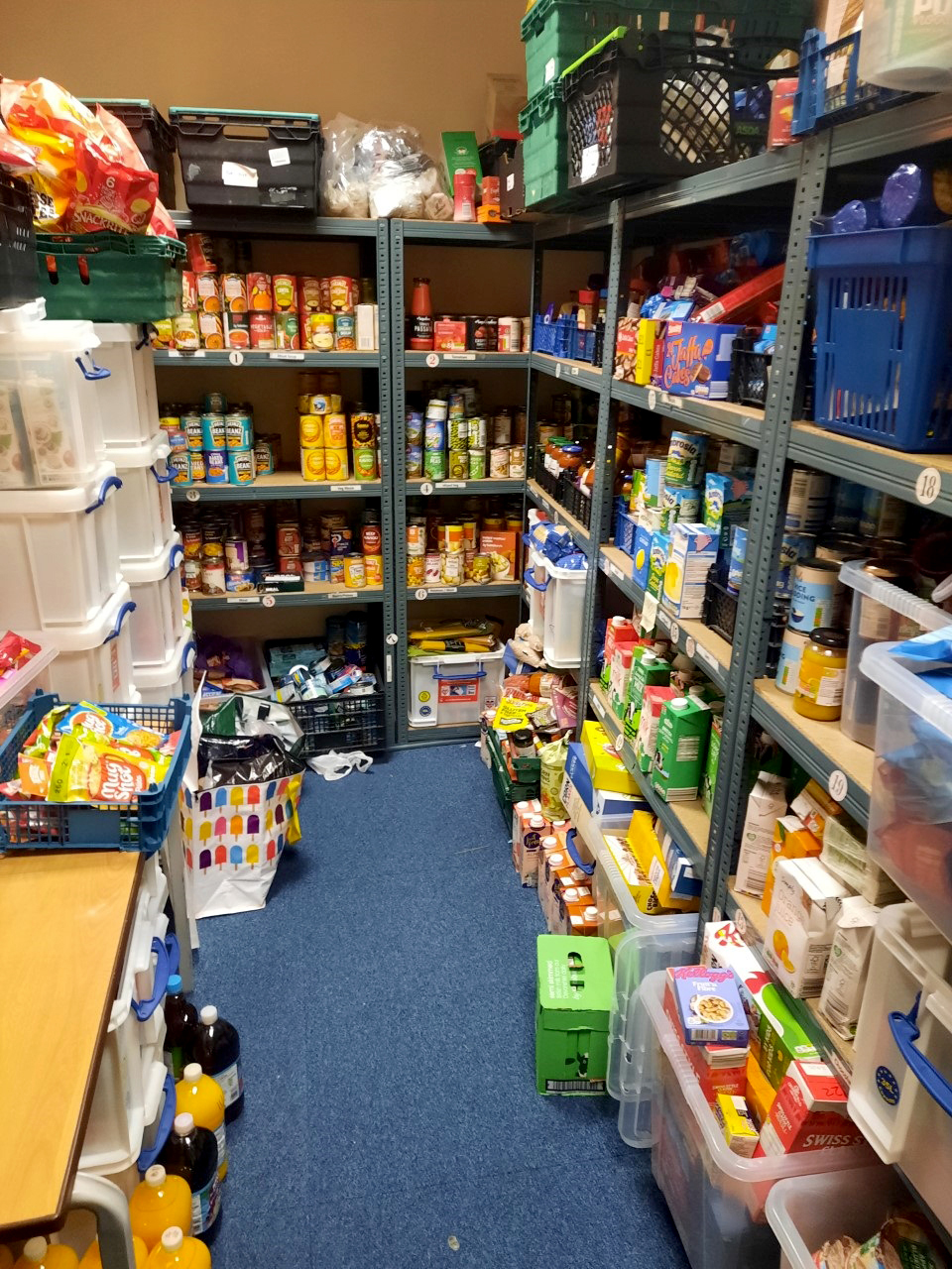 Demand soars at Kingswood food bank