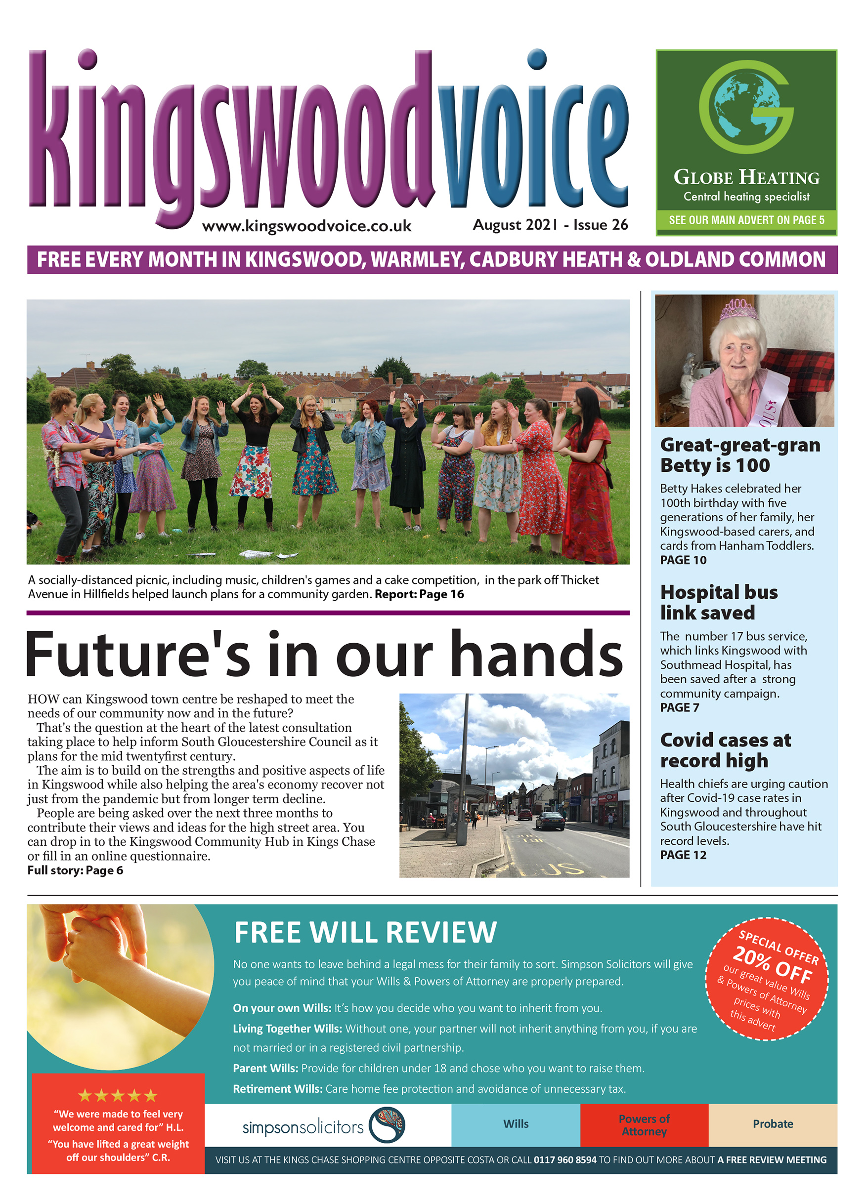 Kingswood Voice August 2021 - Issue 26