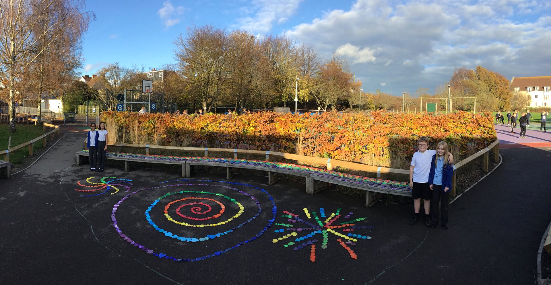 BEACON Rise Primary School pupils have taken part in a collaborative art pr0ject with five other schools.
