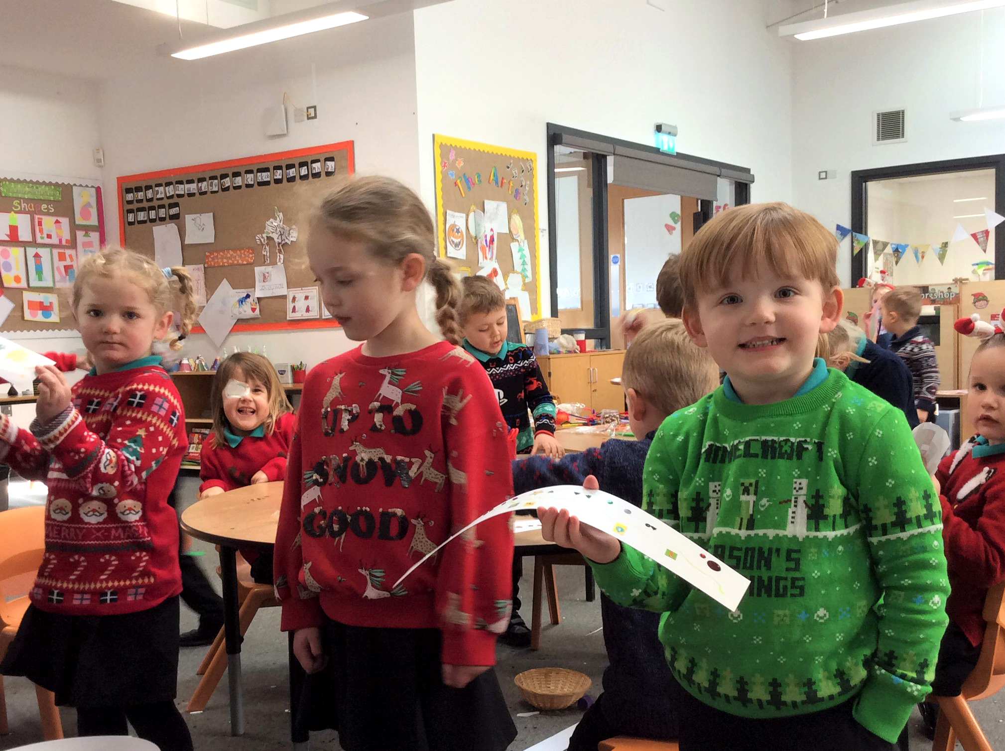 The 2020 generation: reception pupils at King's Oak Academy