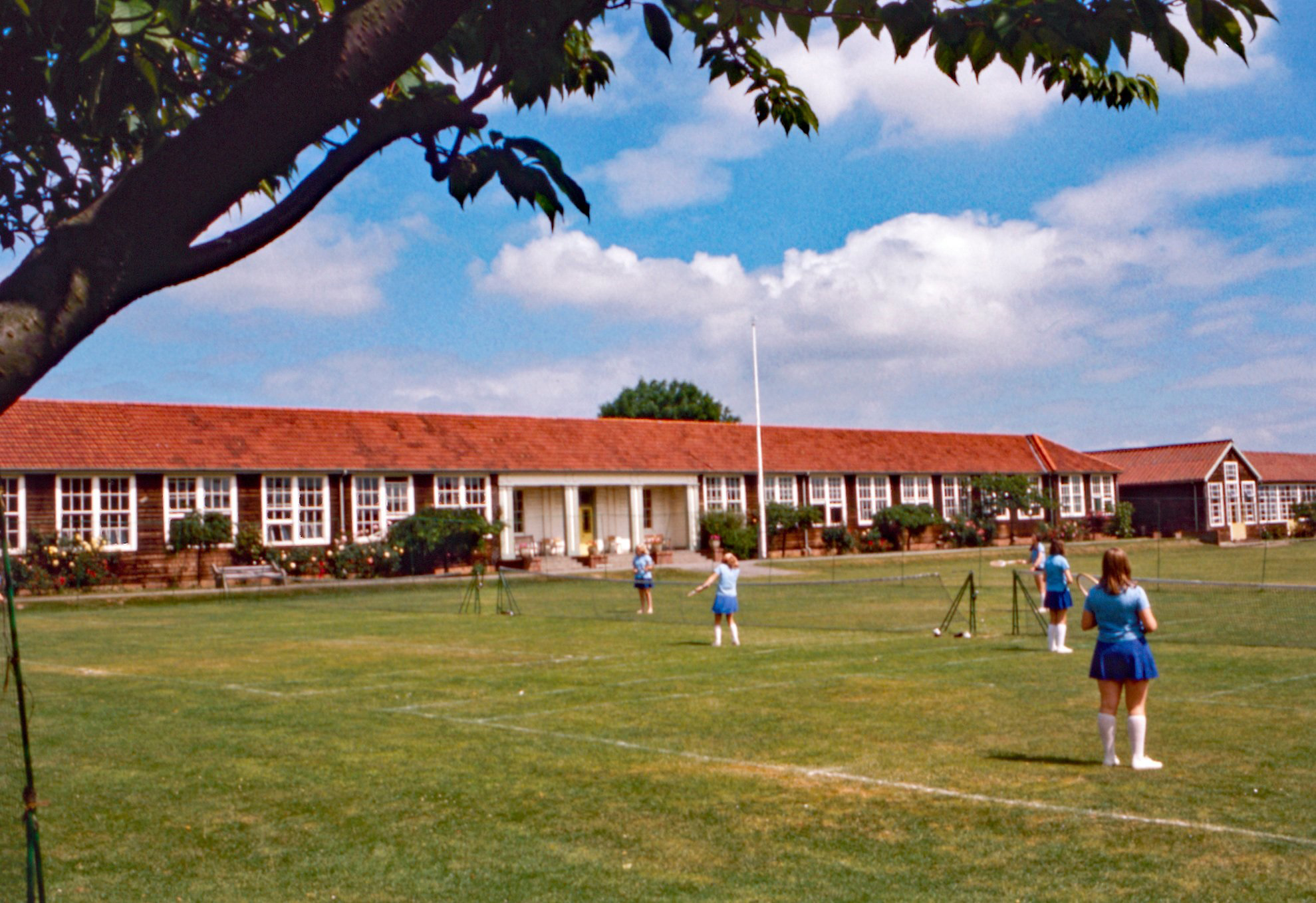 The old school in 1973