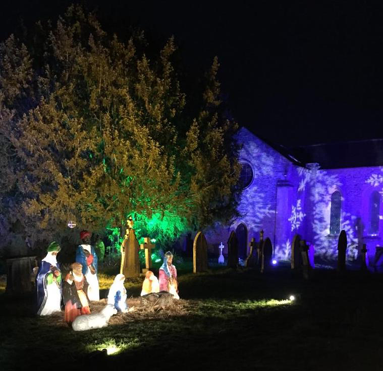 Let there be light: displays bring some seasonal cheer