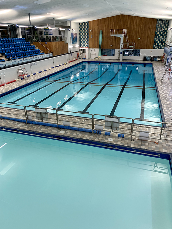 The new-look pools at Kingswood's Active Lifestyle Centre