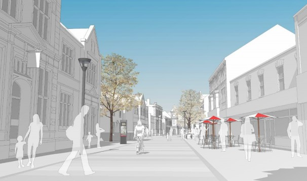 How the pedestrianised Regent Street could look