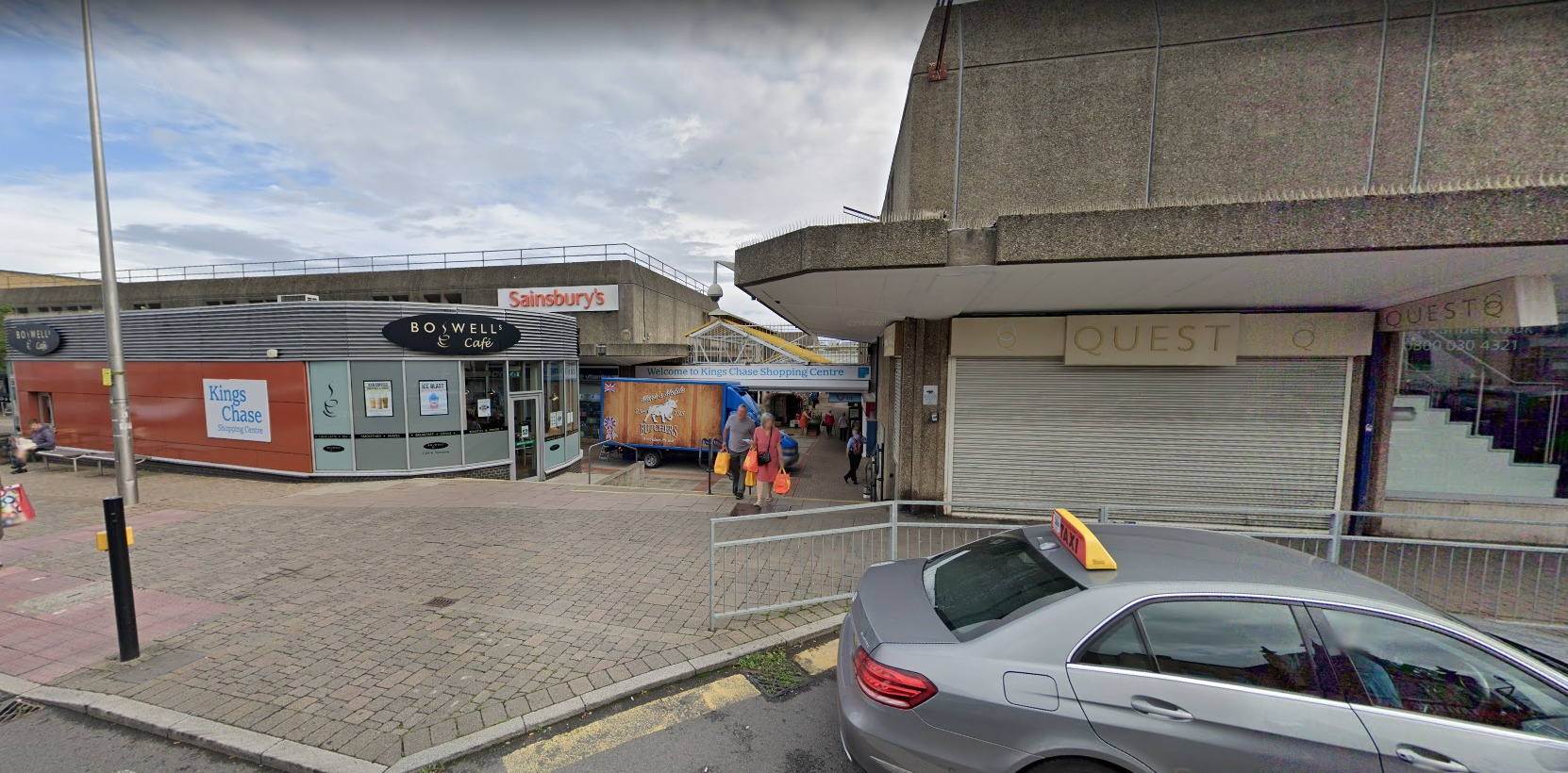 Kings Chase shopping centre - crucial  to the council's  plans