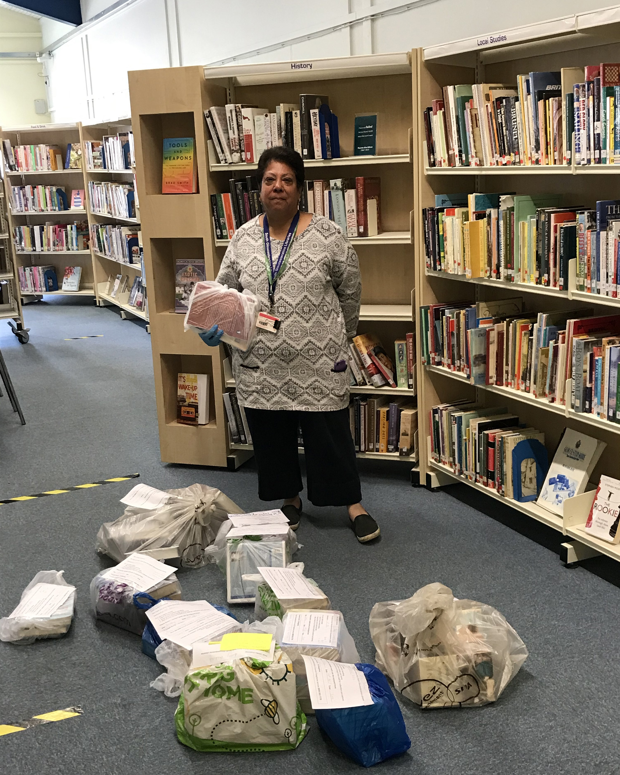 Home Library Service supports older and vulnerable residents