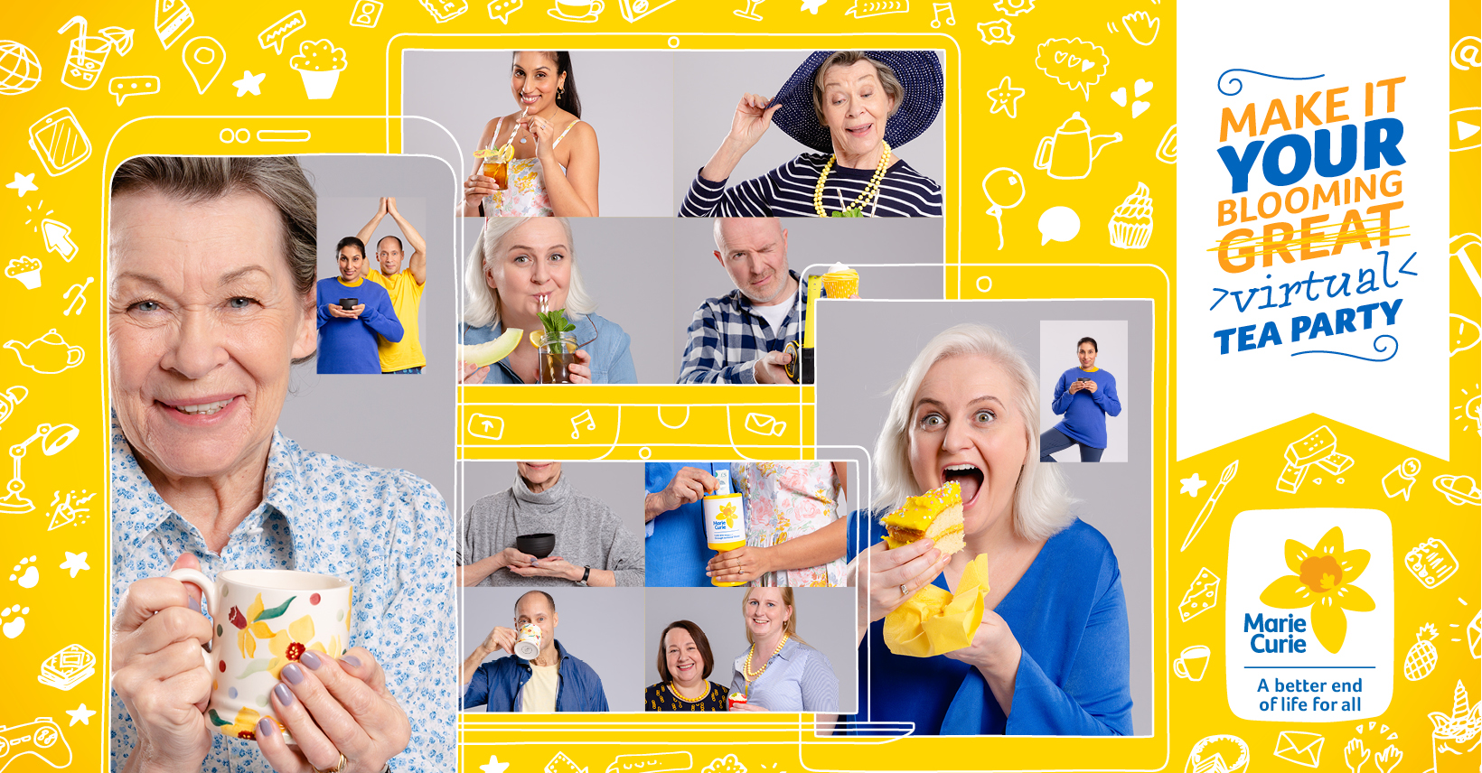 Marie Curie's famous fundraising campaign goes virtual