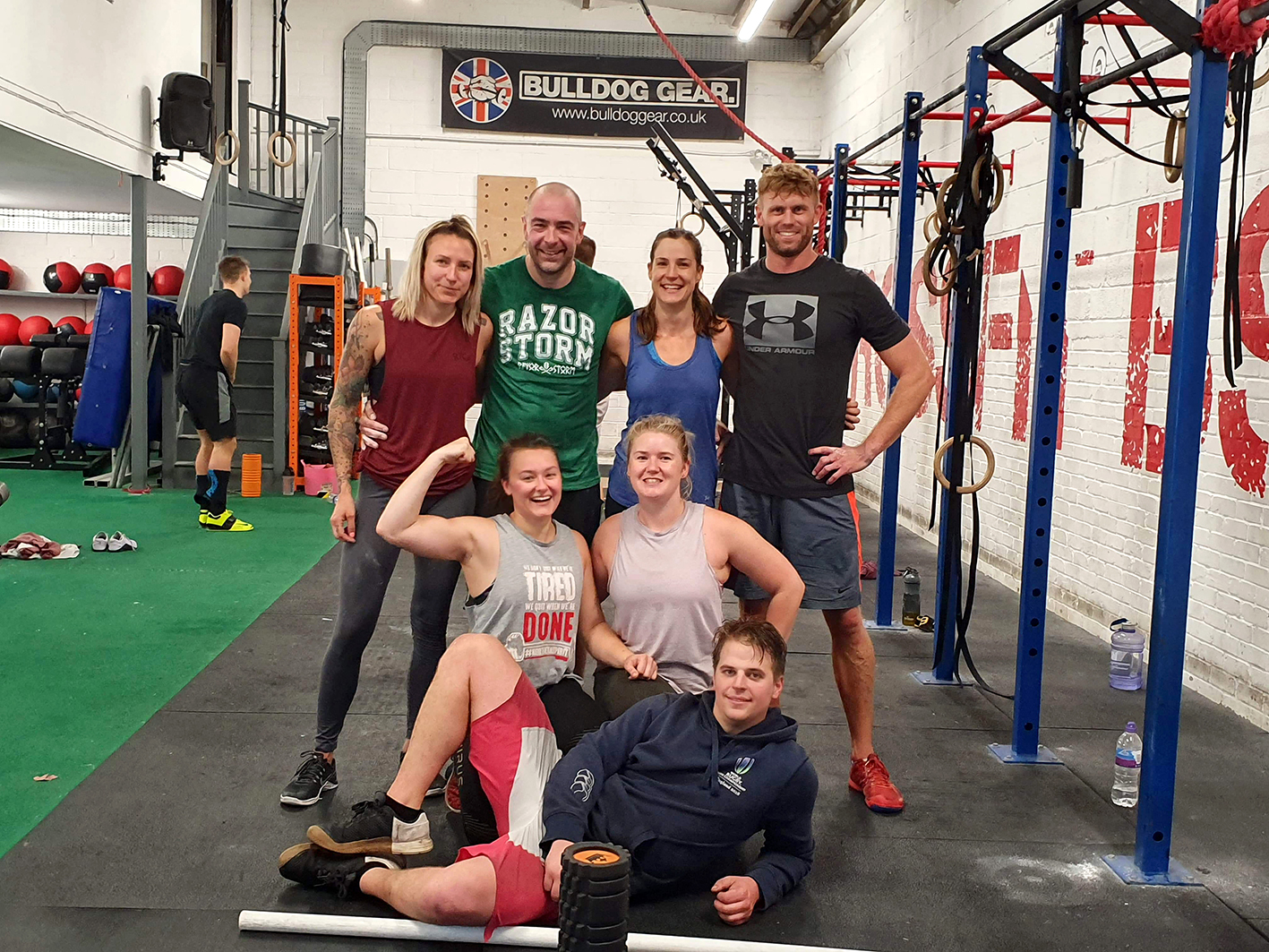 CrossFit team to take up challenge