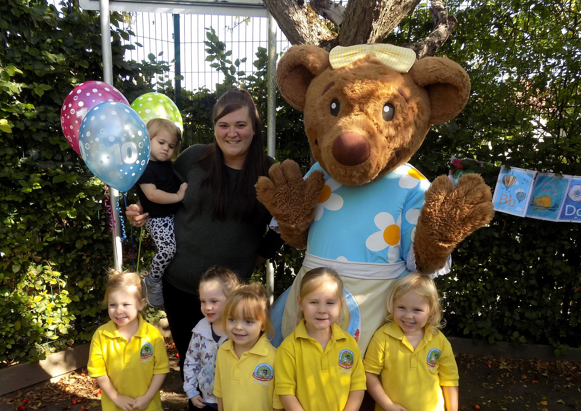 Soundwell nursery's happy anniversary