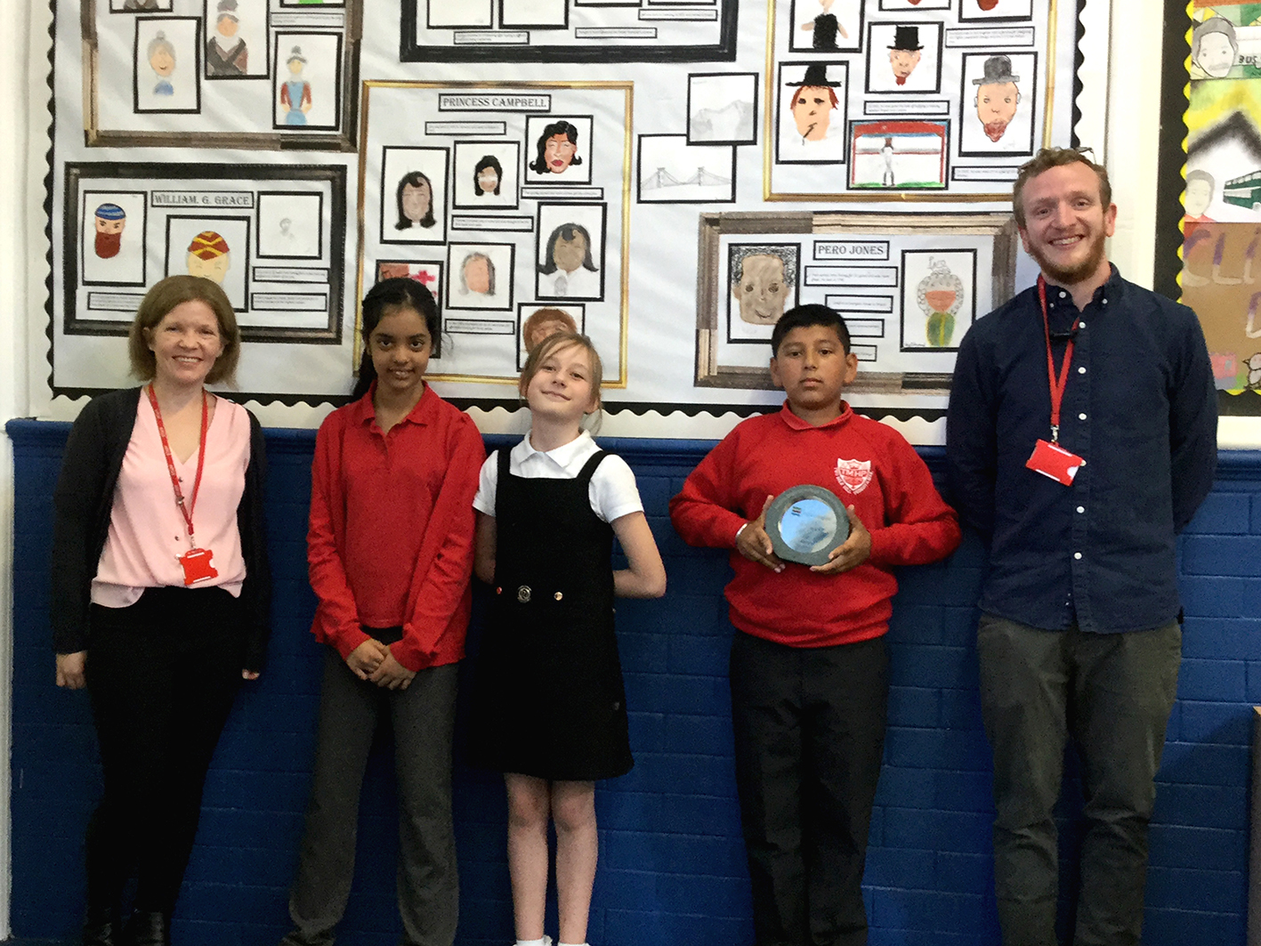 Two Mile Hill children have learned a lot about their local area