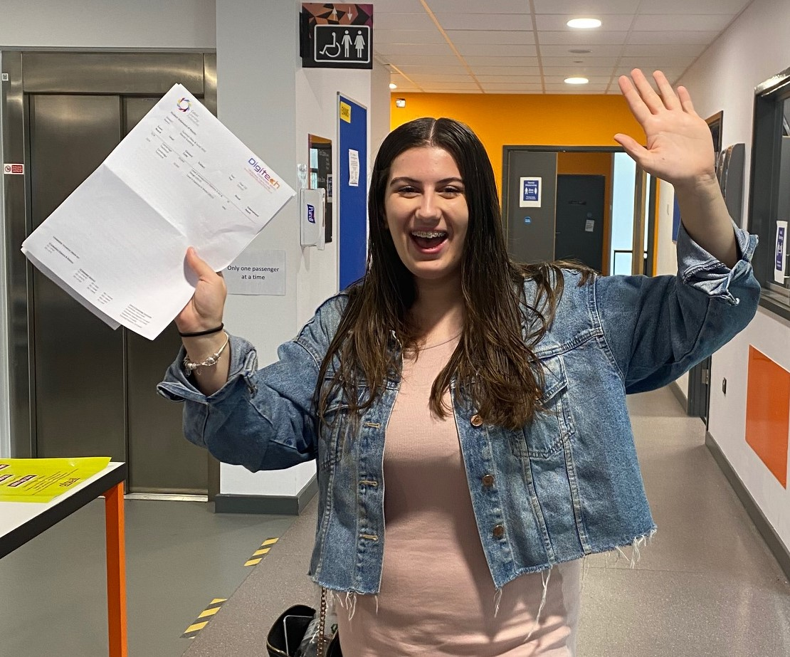 A-level students succeed in spite of the challenges
