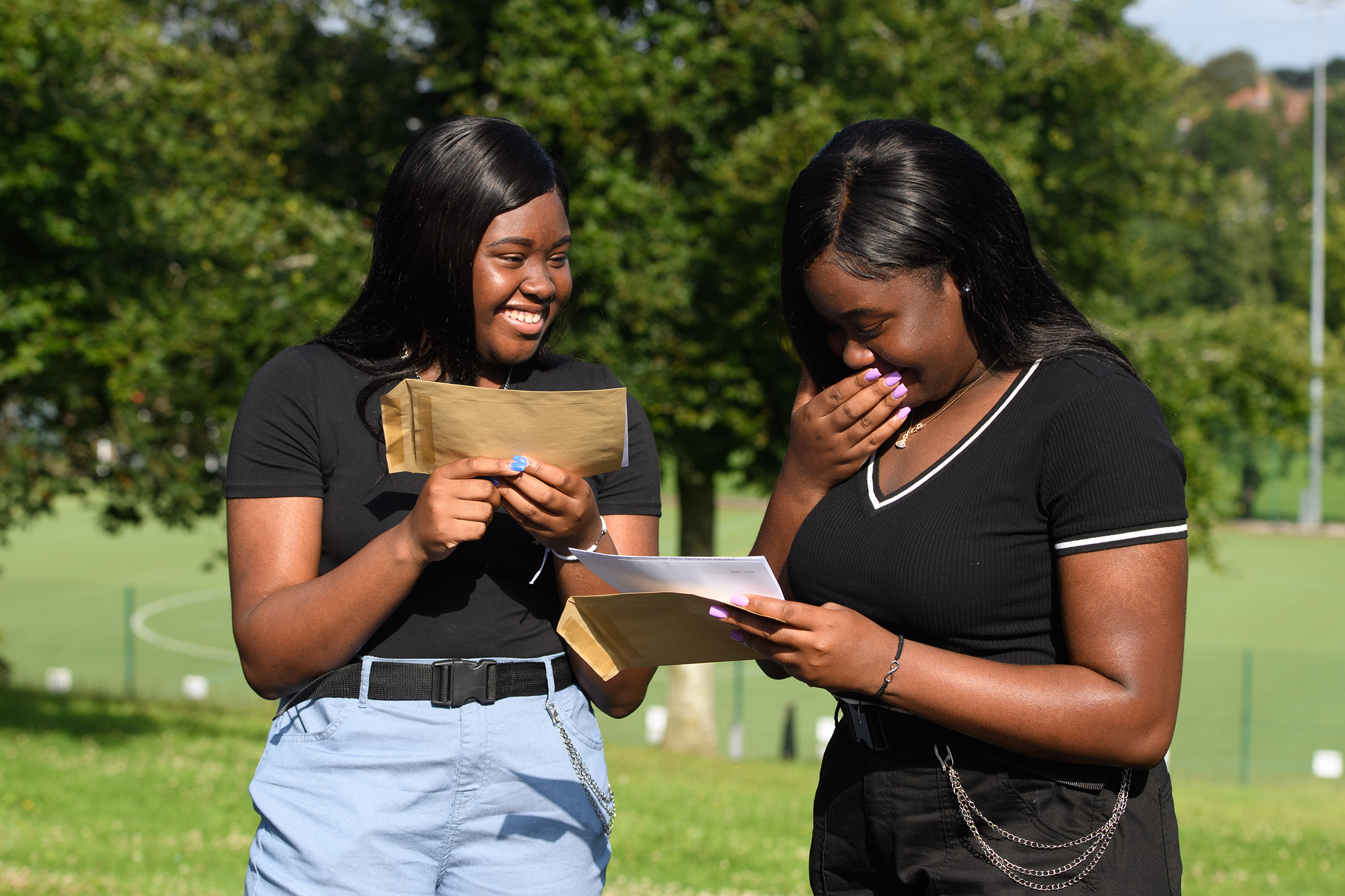 Success! Students at John Cabot Academy were thrilled to receive their GCSE results after a challenging two years during the pandemic